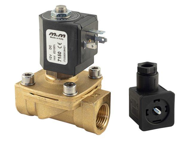 Albin Pump Magnetventil Messing 12V
