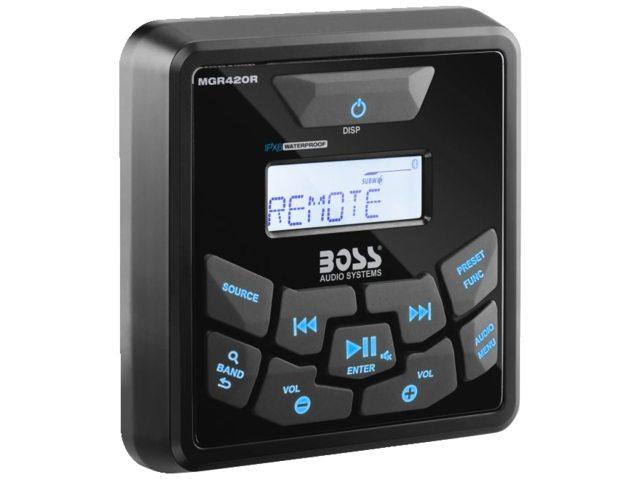 Boss Audio MGR420R Fernbedienung für MGR450B