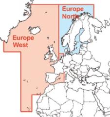 NauticPath Seekarten Europa West (Nordsee und Atlantik)