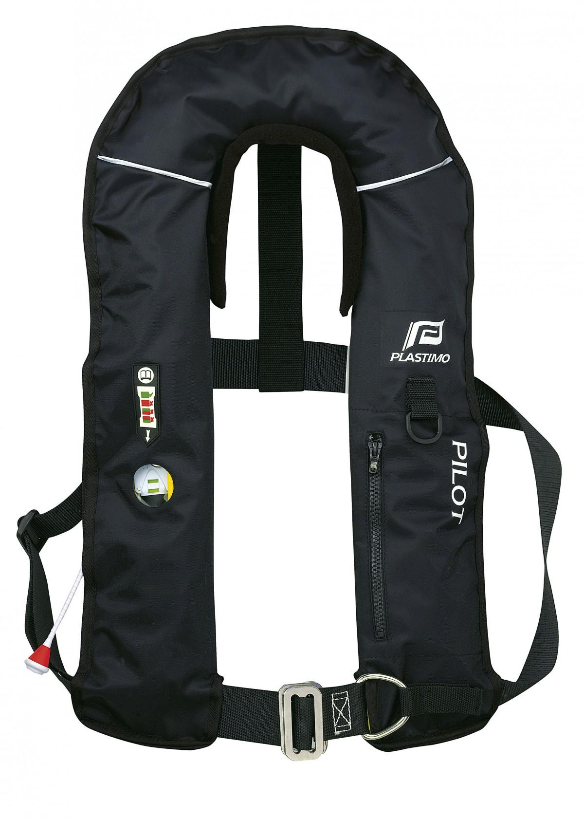 Plastimo Pilot Race 150N Rettungsweste mit Schrittgurt (versch. Ausführungen)