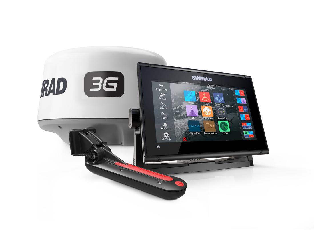 Simrad Go7 XSR GPS MFD Radar Bundle Set