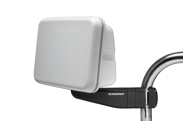 """Scanstrut SPR-7S-AM, kompakter Pod für Reling für 1 x 7"""" Anzeige, mit Arm"""
