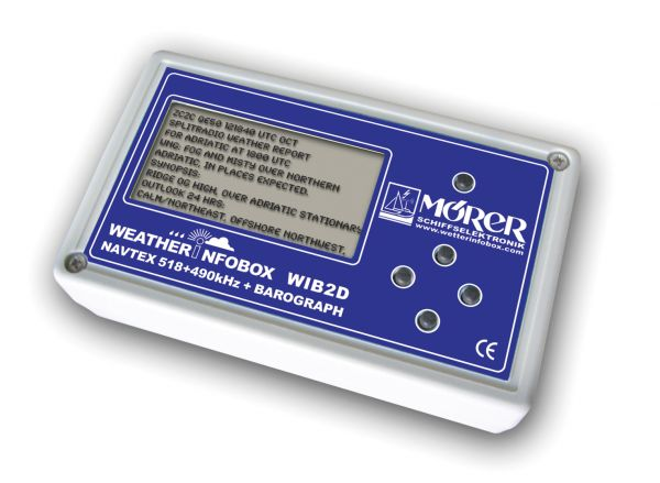 Mörer Wetterinfobox Navtex und Barograph WIB2D