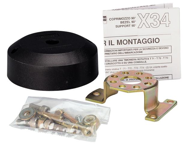 X34 - für 90° Montage