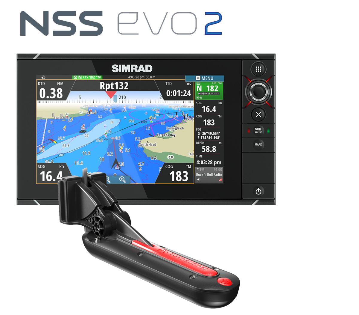 Simrad NSS9 DownScan StrukturScan SideScan DownVision SideVision Bundle