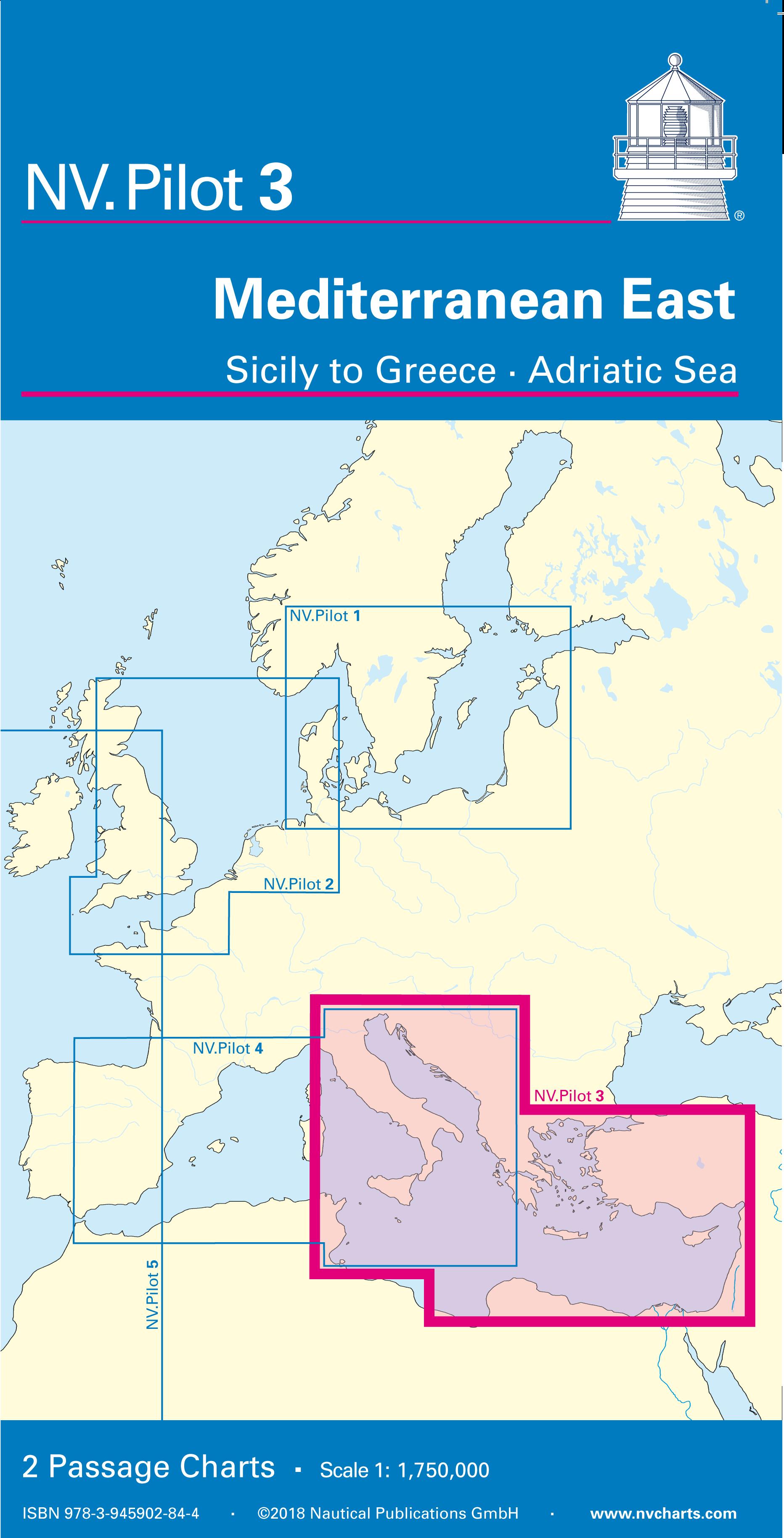NV Verlag Pilot 3 - Übersegler östliches Mittelmeer