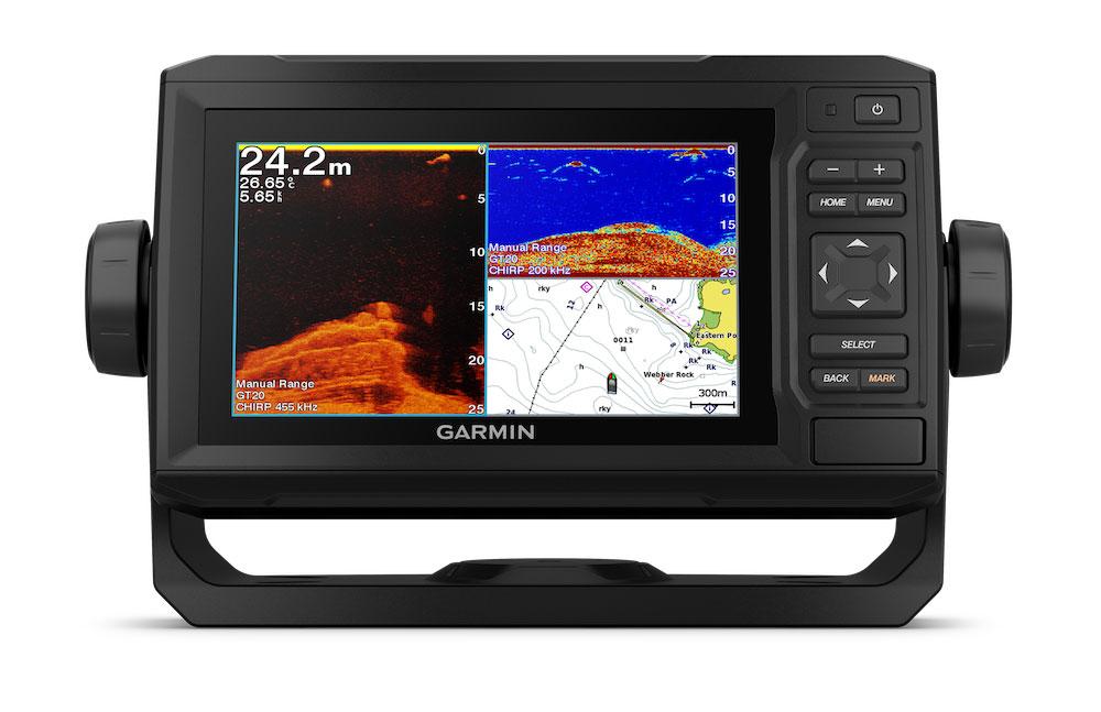 Garmin EchoMap 62cv GPS Kartenplotter Echolot