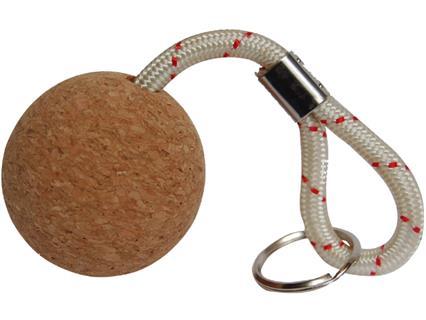 Talamex Schlüsselanhänger Kork Kugel 53mm