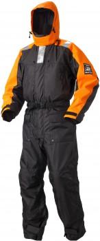 Baltic Schwimmanzug Amorak Child schwarz/orange in verschiedenen Größen