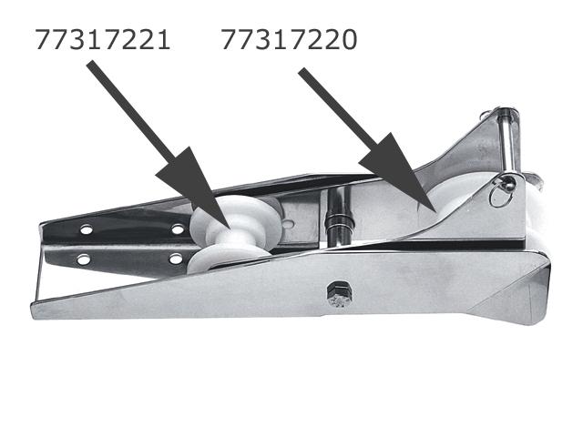 Talamex Ersatzrolle Nylon, groß für Bugrolle Beweglich