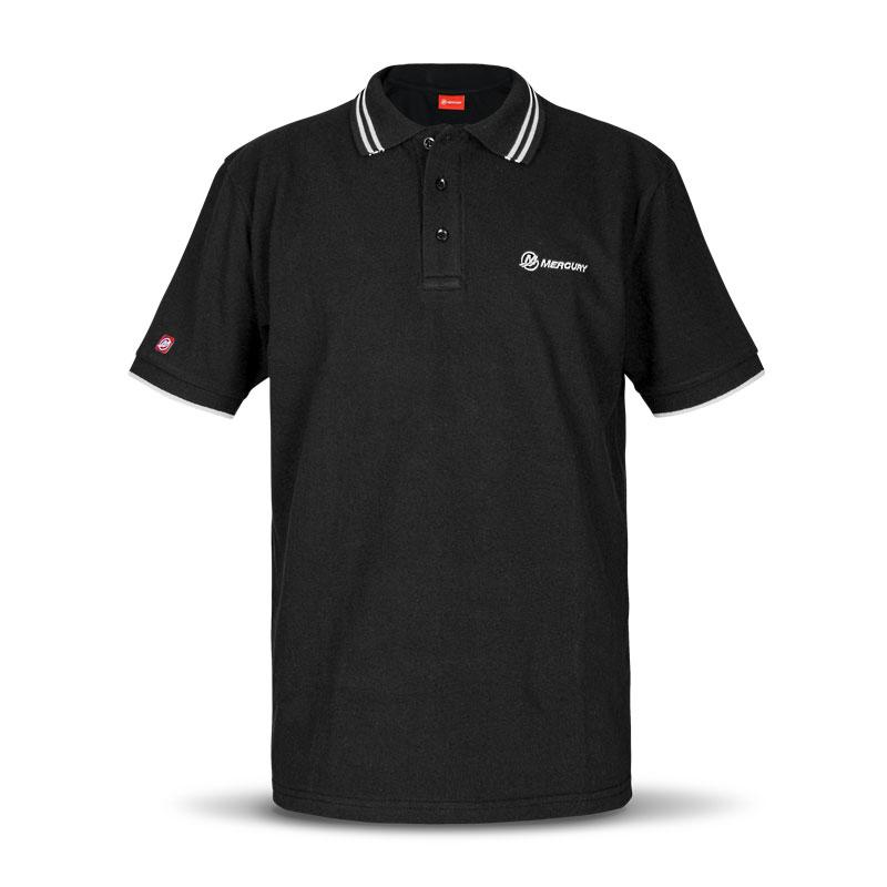 Mercury Polo Shirt schwarz