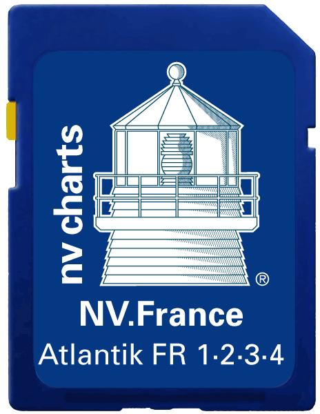 NV Verlag Elektr. Seekarte Frankreich auf SD