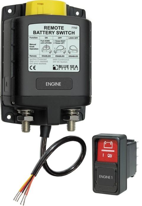 Philippi FBR Fernsteuerbarer Batterie Hauptschalter 12 Volt