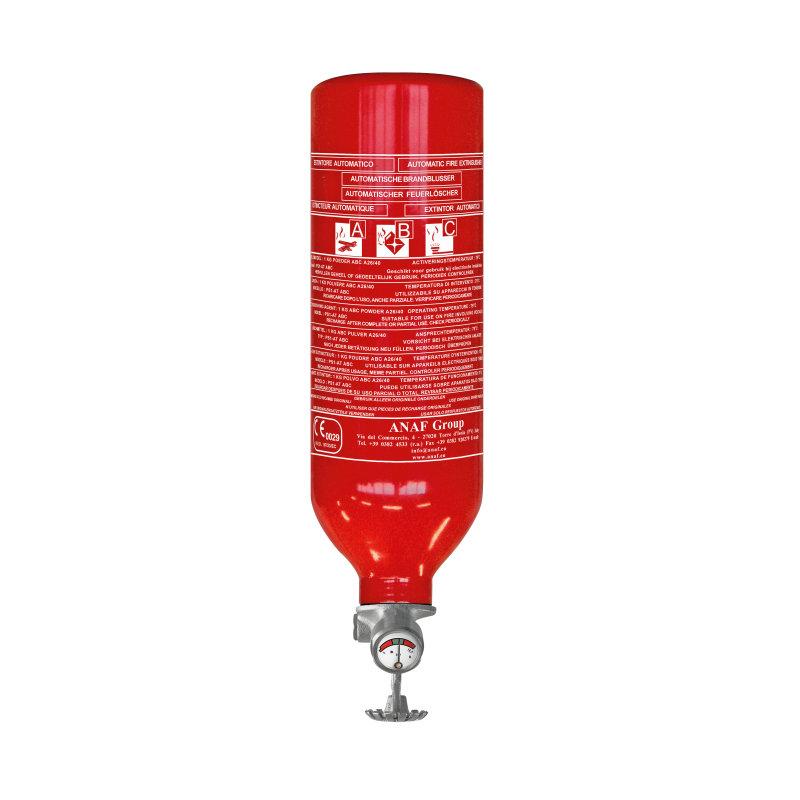 Automatischer ABC-Pulver Feuerlöscher für Motorraum 1kg