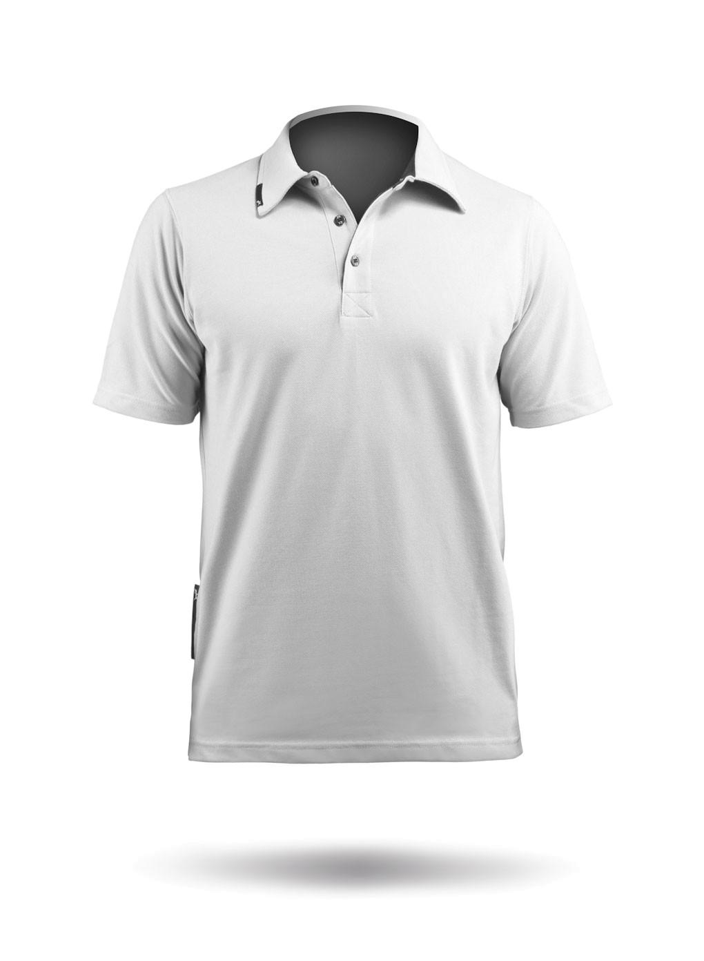 Zhik Poly Cotton Polo Weiß