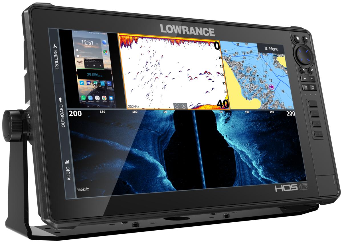 Lowrance HDS-16 Live GPS MFD Echolot