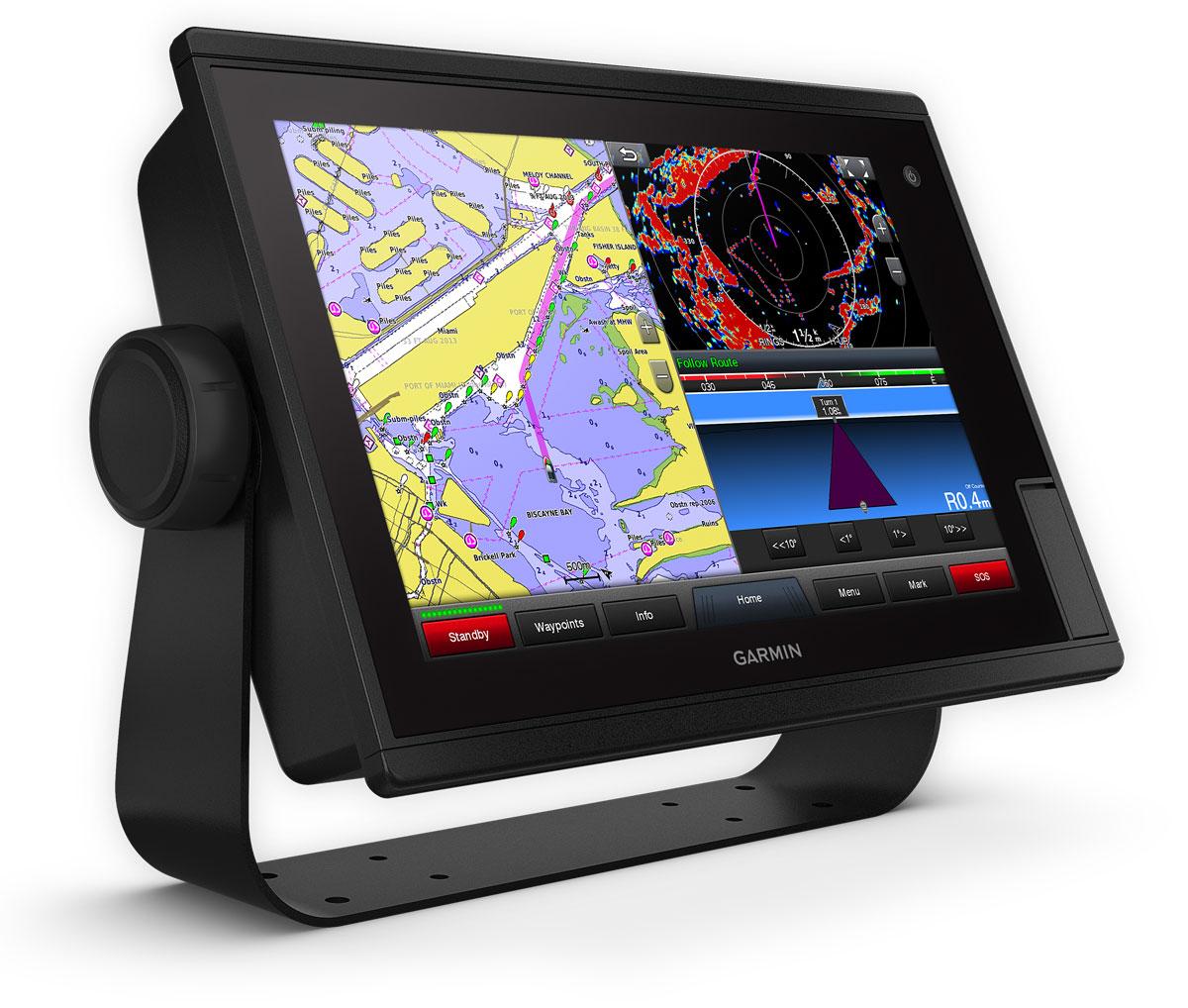 "Garmin GPSmap 1222 Touch Kartenplotter 12"""