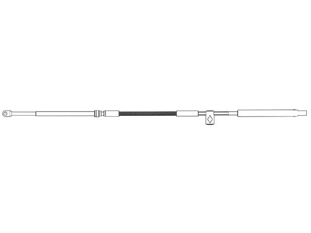 C36 Schaltzug (verschiedene Längen)