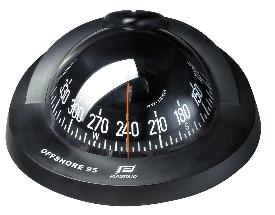 Plastimo Kompass Offshore 95 - Einbauversionen schwarz konisch Einbau