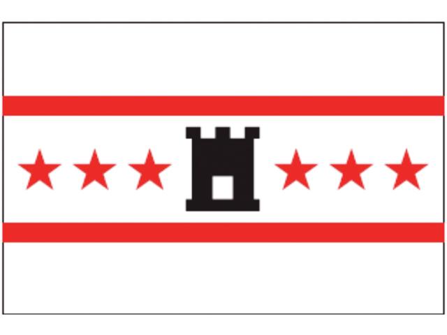 Talamex Flagge Provinz Drenthe (verschiedene Größen)