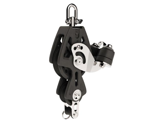Lewmar Synchro Violinenblock mit Hundsfott und Klemme (verschiedene Größen)