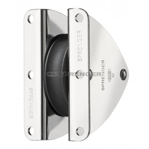 Sprenger 12mm Masteinlassblock 58,5x17,5mm Aluminium