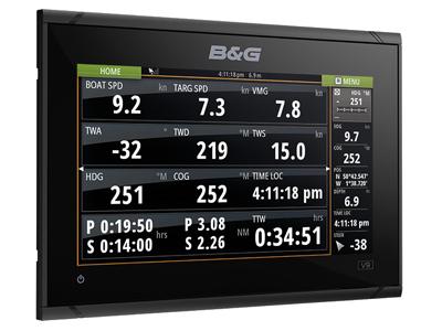B&G Vulcan 9 FS Daten