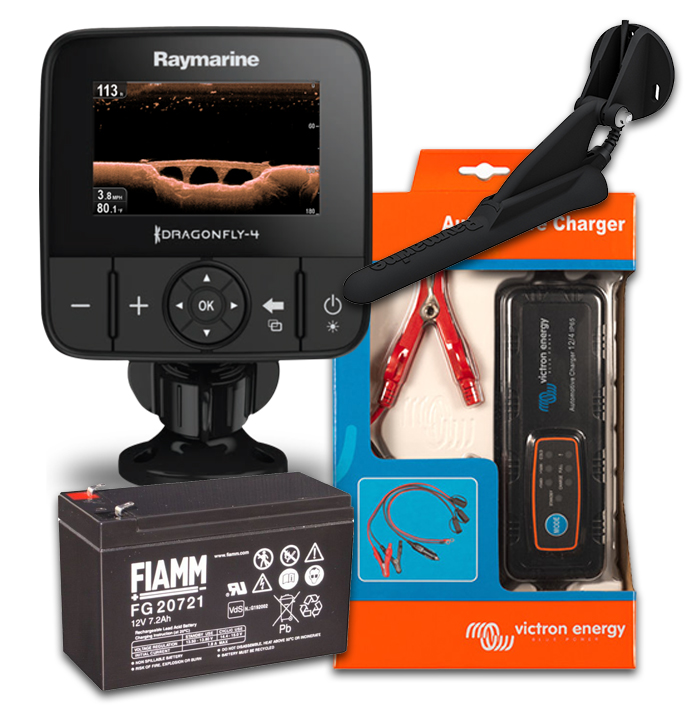 Raymarine Dragonfly 4 Pro Action Pack
