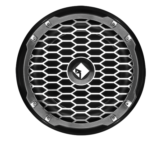 """Raymarine Punch M2 25 cm (10"""") SVC Subwoofer-Lautsprecher (4 Ohm), schwarz"""