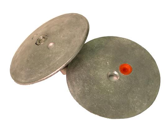 Navalloy Alu Anode 95mm Rudder Trim Tab Double