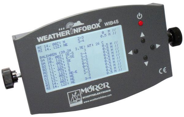 MÖRER WIB4S - Seewetter europaweit - NAVTEX - Barograph mit Display