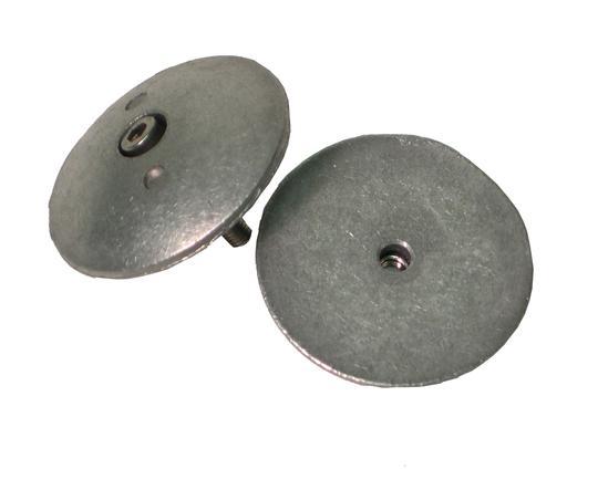Navalloy Alu Anode 48mm Rudder Trim Tab Double