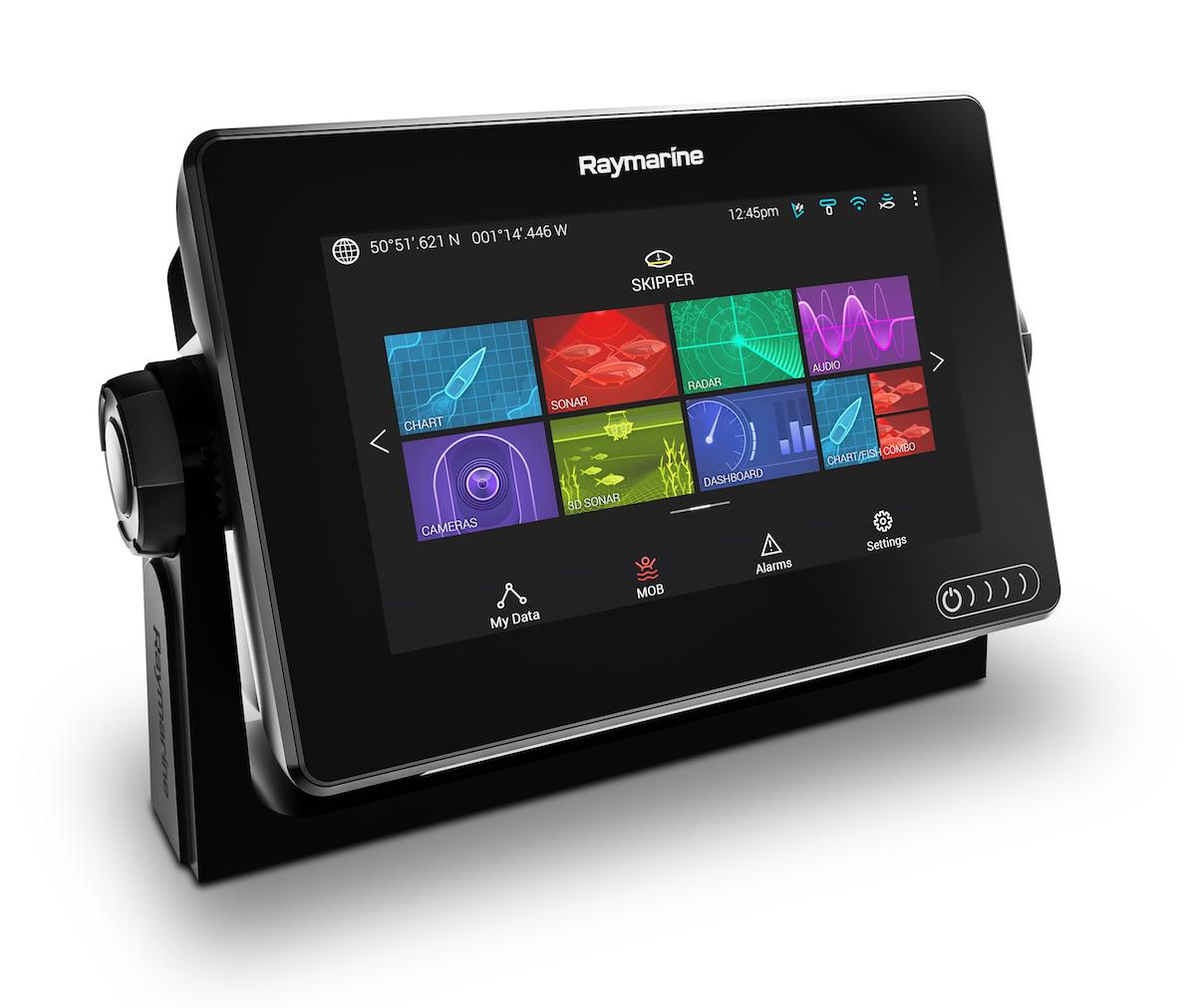 Raymarine Axiom GPS MFD Fishfinder 7 Zoll (versch. Typen) Echolot