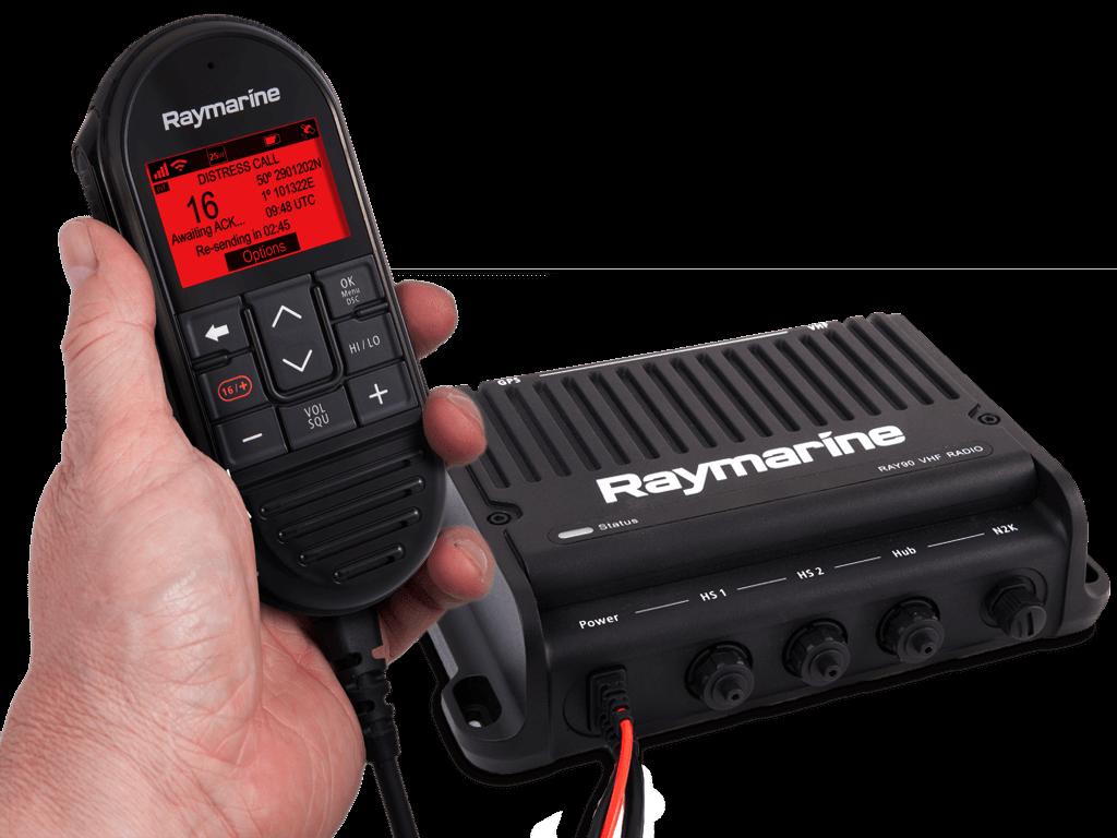 Raymarine Ray90 Blackbox UKW See-/Binnenfunkanlage mit AIS700