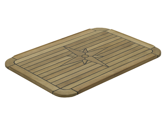 Talamex Teak Tischplatte Classic (versch. Größen) viereckig