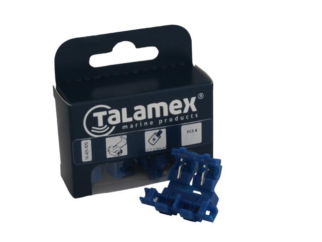 Talamex Einzelladerverbinder mit Sicherunghalter
