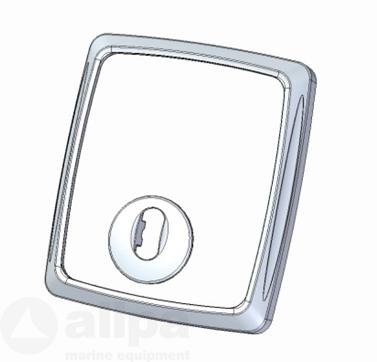 Zipwake Frontblende für CP-S aus gebürstetem Aluminium