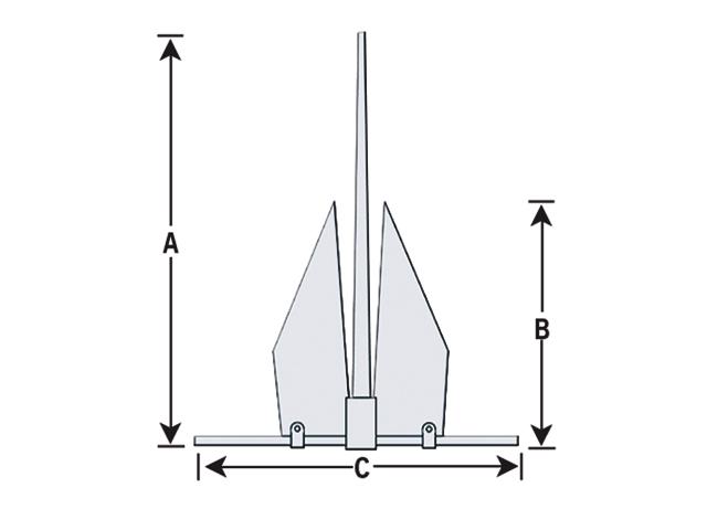 Talamex Anker Populair (verschiedene Größen)