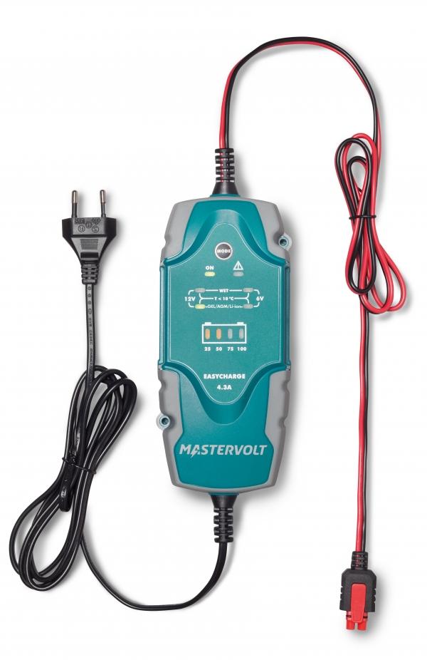 Mastervolt Batterieladegerät EasyCharge Portable 4,3 A, IP65