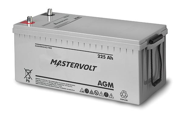Mastervolt AGM Batterie 12V 225Ah