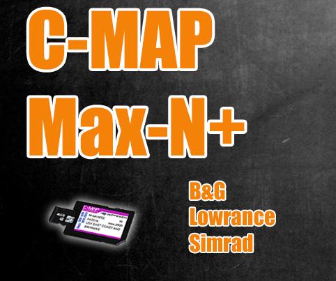 C-Map Max-N+ Wide für B&G, Lowrance und Simrad