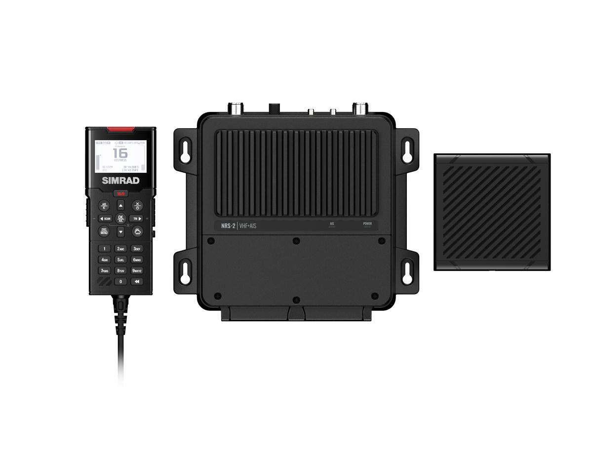 Simrad RS-100 UKW BlackBox See- Binnenfunkgerät DSC/ATIS