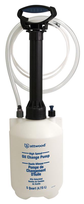 Attwood Ölwechsel Vakuum Handpumpe 4l