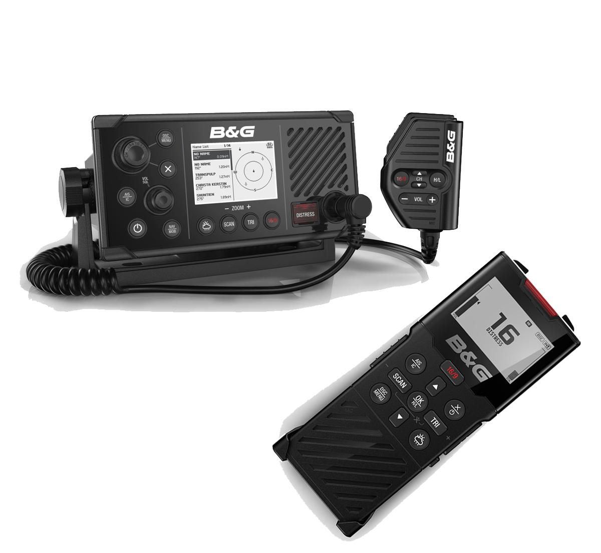 B&G V60 UKW Sprechfunkgerät Bundle mit H60