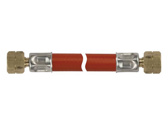 Talamex Gasschlauch Gasleitung 1/4 LH-ÜM x 1/4 LH-ÜM (versch. Längen)