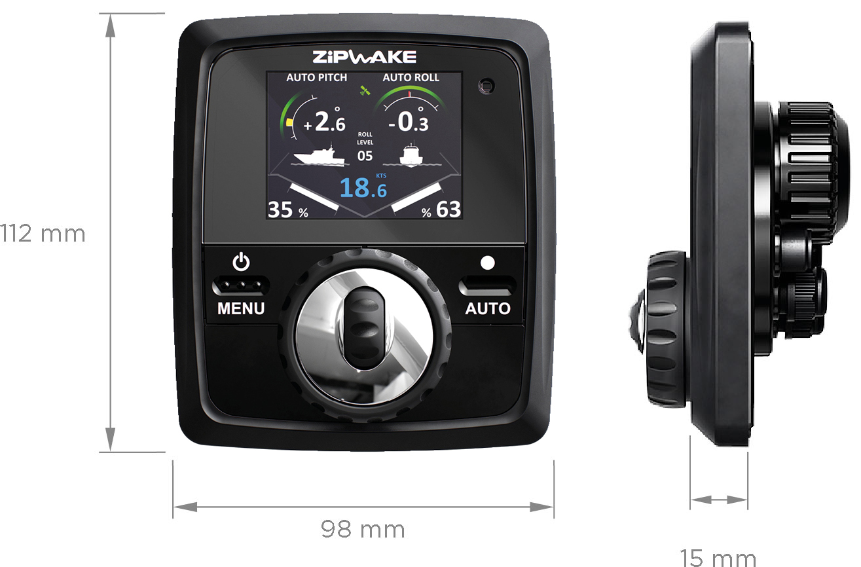 Zipwake Controller