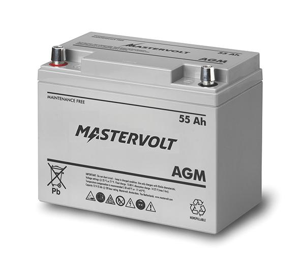Mastervolt AGM Batterie 12V 55 Ah