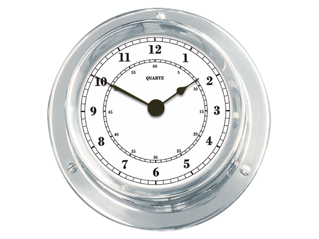 Talamex Serie 110 Messing verchromt Uhr