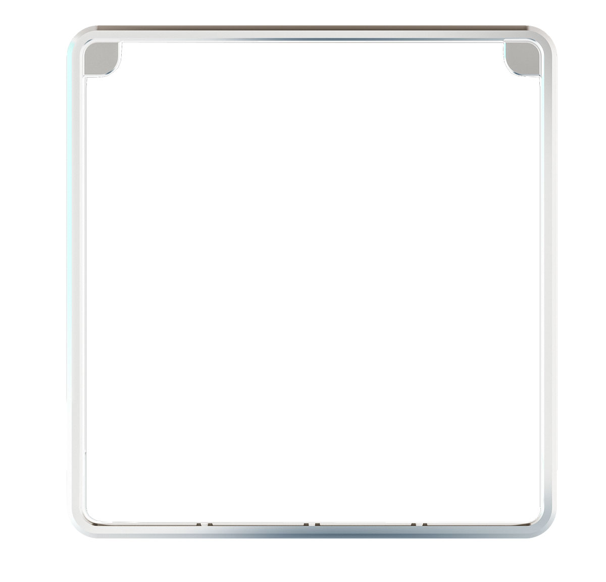 Raymarine 50/i60/i70/p70/p70R Frontrahmen - Silber (eS Serie Design)