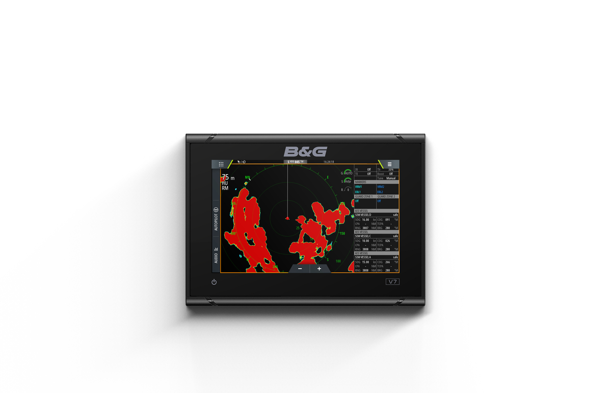 B&G Vulcan 7R Multifunktionsdisplay Kartenplotter
